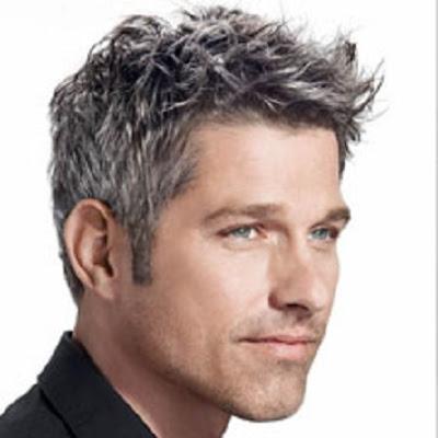 Siwe włosy- ukrywać czy farbowac